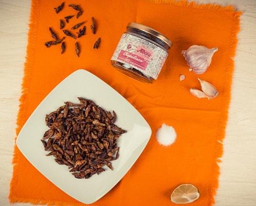 Chapulines Semideshidratados - Albora