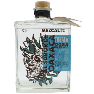 Mezcal Tobalá, doble destilado