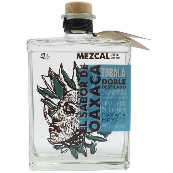 Mezcal Tobalá, doble destilado