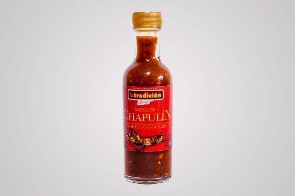 Salsa de Chapulín 50ml, La Tradición, El Sabor de Oaxaca