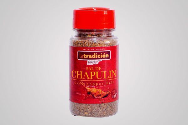 Sal de Chile con chaupulines y cítricos mezcal