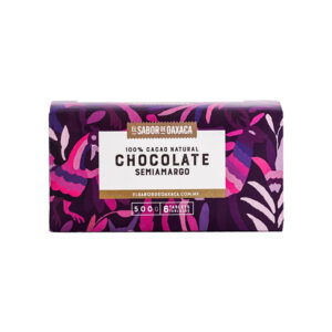 Chocolate Semiamargo 500g El Sabor de Oaxaca