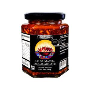 Salsa Macha de Cacahuate El Sabor de Oaxaca