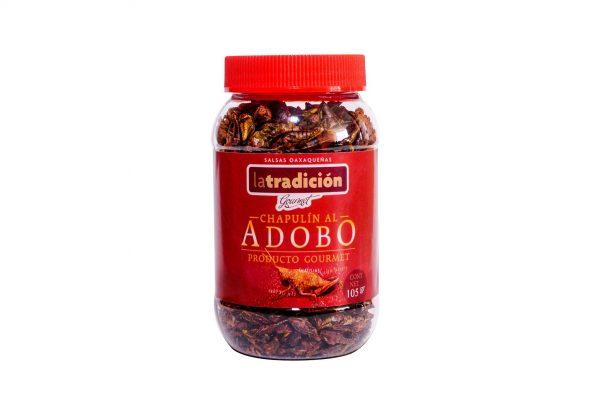 Chapulines al Adobo La Tradición 105g